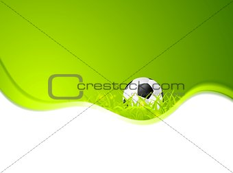 Abstract sport soccer vector background
