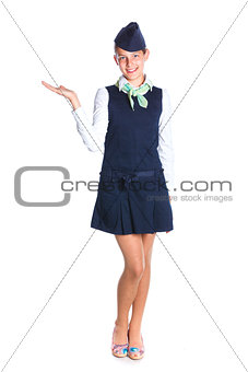 Charming Girl Stewardess