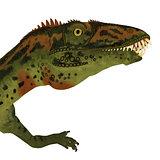 Masiakasaurus Dinosaur Head