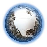 North America on metallic Earth