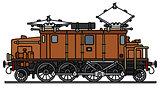 Old electric locomotive