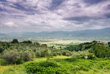 Landscape in Italy Marche