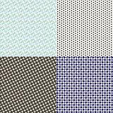 A set of four textures
