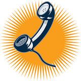Vintage Telephone Retro Style