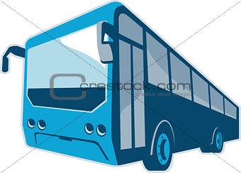 Tourist Shuttle Bus Coach Retro