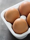 rustic chicken egg