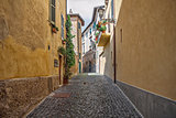 Little street in Orvieto, Italy, Toscana