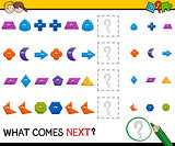 preschool pattern activity