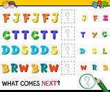preschool pattern activity
