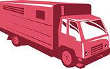Horse Truck Trailer Retro