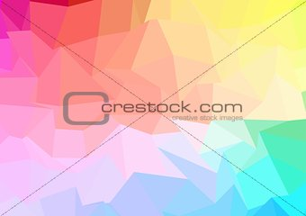 abstract color background with deformed shapes