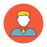 Businessman avatar icon