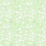 Line Fruit Vegetable White Tile Pattern