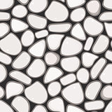 Seamless Pattern - Pebble cobblestone background