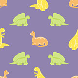 Dinosaurs. Seamless background