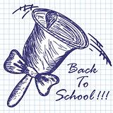 School hand bell