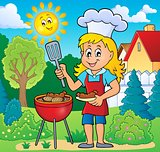 Barbeque theme image 5