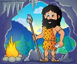 Cave man theme image 1