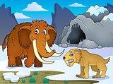 Prehistoric theme image 1