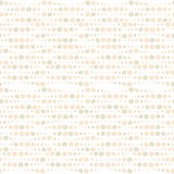 Vector nude circle seamless pattern