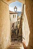 Italian city of Sperlonga
