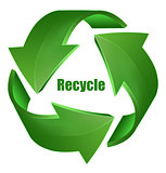 Recycle Symbol - Recycle Icon Green Color