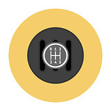 Manual Transmission flat icon