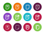 Notepad Document file and Note circle icons.