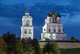 The Krom or Kremlin in Pskov