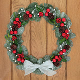 Christmas Spruce Fir Wreath