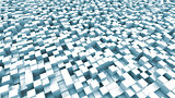 light blue cubes background