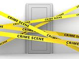 crime scene door