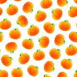 Seamless Pattern with Pumpkins