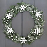 Snowflake Wreath Decoration