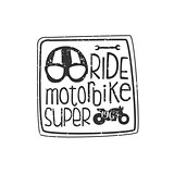 Ride Motorbike Vintage Emblem