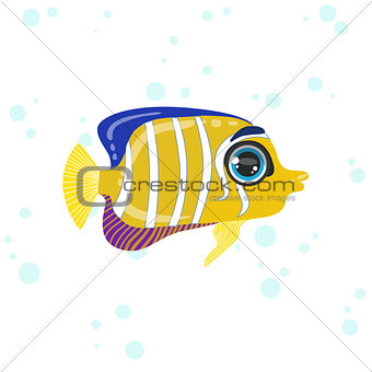 Angel Fish Drawing