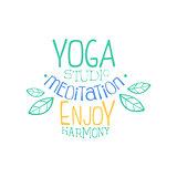 Meditation Studio Hand Drawn Promotion Sign