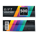 gift voucher discount template design