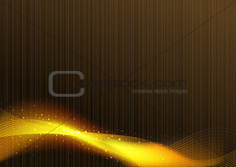 Abstract Glowing Lines Background