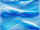 blue abstract background with waves