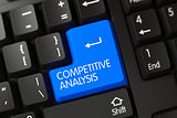 Competitive Analysis CloseUp of Keyboard.