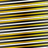 White, black and golden stripes vector design