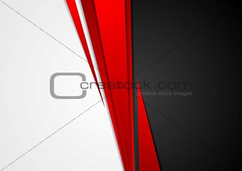 Corporate concept contrast vector background