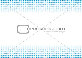Abstract blue shiny circles background