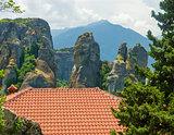 ancient monasteries Greek meteors