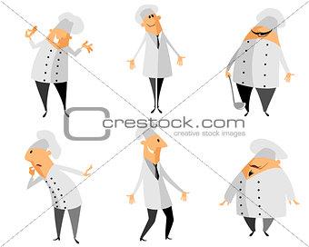 Six chef set