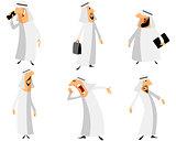 Six arabs set