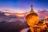 Golden Rock of Myanmar