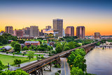 Richmond, Virginia, USA Skyline