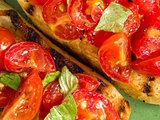 rustic italian bruschetta bread